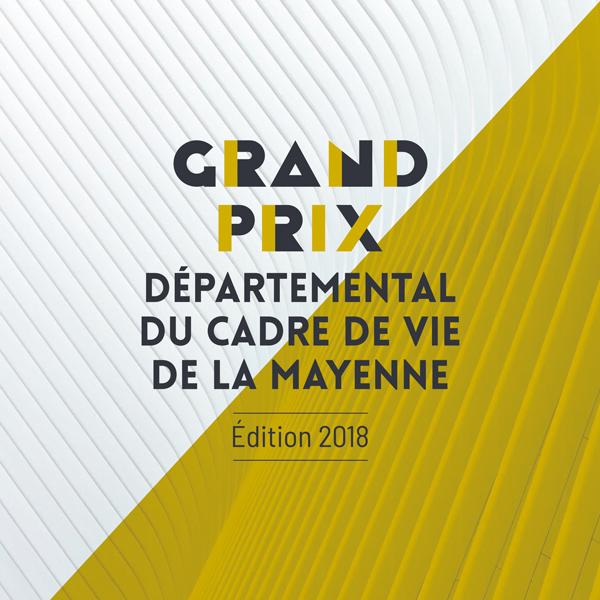 Publication du Grand Prix départemental du Cadre de Vie de la Mayenne, édition 2018
